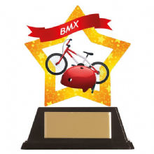BMX Mini-Star Acrylic Award